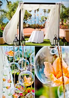 Gorgeous outdoor wedding reception inspiration! This decor is so full of life and color! #summerweddings