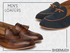 Because Swag is for Boys, Class is for Men! Shop for The Shoe Factory's classy collection at ShoeMuch.  #ShoeMuch #Loafers #FormalShoes #MensFootwear #StayClassy