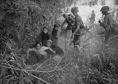 US troops round up Vietnamese civilians during an unidentified, undated operation. The villagers were always suspect of having ties to the Vietcong. While the fear was real, it was probably also true that the majority of these people were innocent of blame. But the lines between true and false were unavoidably blurred resulting in brutalities that, under ideal conditions, could have been avoided (always with the wisdom of hindsight).In the end, both sides paid a heavy price.