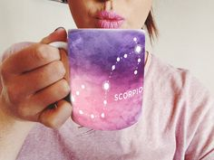Scorpio Mug - Gift for a Scorpio - Astrology Coffee Mug - Scorpio Zodiac Present - November Birthday Gift - Scorpio Astrological Coffee Cup by Exaltation on Etsy https://www.etsy.com/listing/461779202/scorpio-mug-gift-for-a-scorpio-astrology