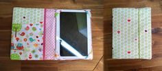 Wie näht man eine Tablet-Hülle? Sewing Hacks, Sewing Projects, Diy Projects, Baby Crafts, Diy And Crafts, Diy Backpack, Kindle Cover, Fuzzy Blanket, Sewing Accessories