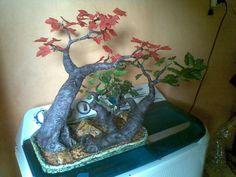 Pohon hias yg sudah jadi.
