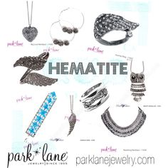 """""""Hematite"""" by parklanejewelry on Polyvore"""