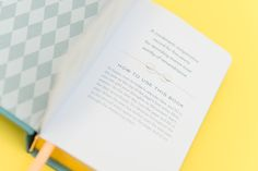 One Line a Day book - www.thelovelythings.com