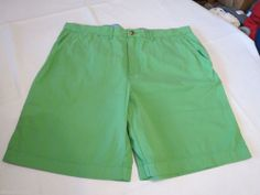 Men's Tommy Hilfiger 7845132 Cricket Green 314 shorts casual 32 W slim fit NEW  #TommyHilfiger #shorts