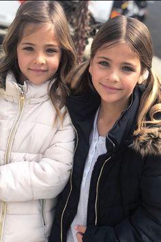 Faith and Grace Beautiful Little Girls, Cute Little Girls, Beautiful Children, Beautiful People, Twin Models, Young Models, Child Models, Cute Twins, Cute Babies