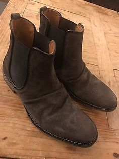 John Varvatos Men FLEETWOOD CLASSIC CHELSEA BOOT STYLE F2630R4-Y416 Size 10.5