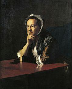 John Singleton Copley -- Mrs. Devereux, 1771