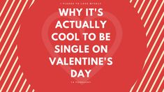 Someone had to say it. With Valentine's day fast approaching I see all kinds of messages on Twitter 'Can we skip Valentine's day? ' , 'Even my 17 year old cousin has a date for Valetine but me...' and 'I've decided not to be sad...' .This inspired me to write this article.  Read about it here: https://goo.gl/28B7Eh  . . . . #ValentinesDay #Valentine #single #singleonvaletines #singleonvalentinesday #blogger #advice #mentalhealth #love #selflove #loveyourself