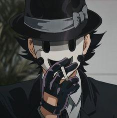Hot Anime Boy, Cute Anime Guys, Anime Boys, Otaku Anime, Anime Art, Le Sniper, Anime Lindo, Masked Man, Gothic Anime