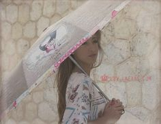 Sweet automatic folding umbrella