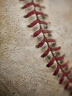 Close-up of worn baseball surface by Sung-Il Kim Baseball Crafts, Baseball Boys, Better Baseball, Baseball Shirts, Baseball Field, Baseball Dress, Baseball Nails, Baseball Stuff, Baseball Wallpaper