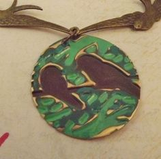 'Flying Birds Necklace' is going up for auction at 10am Fri, Apr 5 with a starting bid of $8.