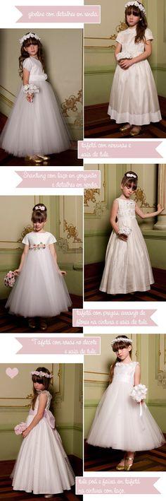 daminhas-de-honra Lace Flower Girls, Flower Girl Dresses, Princesa Tutu, Dream Wedding, Wedding Day, Baptism Dress, Wedding With Kids, Fashion Moda, Bridesmaid Dresses