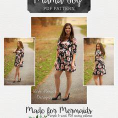 Dreamy Collection- Mama Joy Peplum, Dress & Maxi