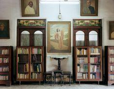 Laura McPhee (2001): Library, Miss Pal's House, North Calcutta.