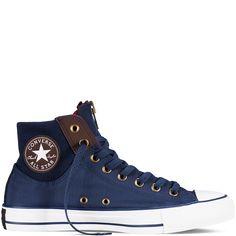 Converse - Chuck Taylor All Star MA-1 Zip - Nighttime Navy - Hi Top