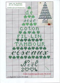 Sapin de Noël 2003 -Elisa passions