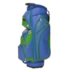 Blue/Green Perforated Ladies Cart Bag by Glove It Golf. Buy it @ ReadyGolf.com