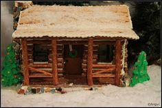 pretzel log cabins - Google Search