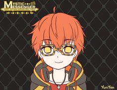 I didn't think Saeyoung could be any more adorable, but here we are.... | Mystic Messenger