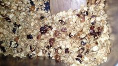 I Love Granola! Recipe that is Gluten-Free and No added fat...sweet...