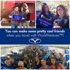 Traveling with #WorldVentures is all about traveling with friends. In the comments below, TAG a friend and tell them you want to go on an adventure with them! #wvtravel #wanderlust #vacation #holiday #travel
