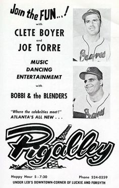Pigalley (Joe Torre and Clete Boyer)