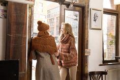 Még egy modell, ami az őszi Tweed Style fonalból készült. Igazán lezser viselet.