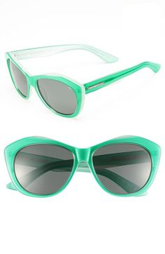 Loving these Rebecca Minkoff mint sunglasses