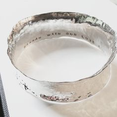 Beaten Track Breeze Bangle Silver Bangles, Silver Cuff, Sterling Silver, Handmade Silver Jewellery, Silver Jewelry, Wild Garlic, Breeze, Beats, Beautiful Things