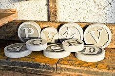 Lettere cemento