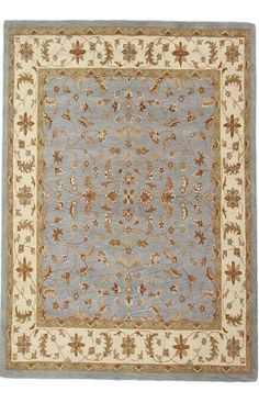 Rugs USA Folklore VT08 Slate Rug.            Another traditional choice