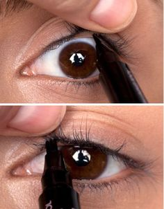 How to tight line eyeliner