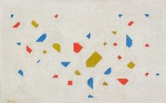 Bart van der Leck: Blossoming Little Tree 1, 1921