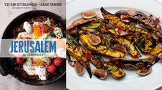 Yotam Ottolenghi and Sami Tamimi's roasted sweet potatoes with fresh figs, from the Jerusalem cookbook, are a revelation.