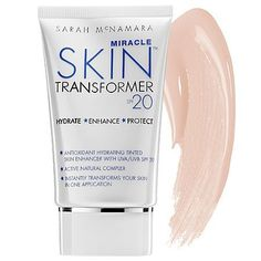 Miracle Skin Transformer MEN SPF 20 by Miracle Skin Transformer. $24.94. This 5-in-1 tinted moisturizer helps to control shine while providing SPF 20 protection.. Miracle Skin Transformer MENSPF 20 is an antioxidant-rich tinted skin enhancer that leaves your skin looking airbrushed in one easy step! Who knew that one product could transform skin instantly? Miracle Skin Transformer Men SPF20s ingredients target lines and wrinkles and improve your skins texture and pore size. Fi...