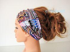 Haarband bunt ca. 12 cm  von  Maria Elfenbunt auf DaWanda.com