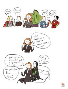 Avengers Stories By Noelle Stevenson
