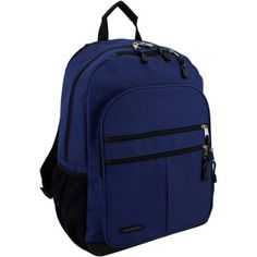 Eastsport Future Tech Backpack with Fully Padded Electronic Storage Pocket, Blue