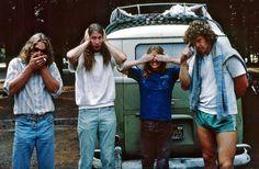 写真:1970年代にヨセミテを征服投石無法者クライマー