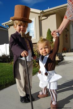 Willy Wonka and Oompa Loompa costumes  more than words can describe: Halloween 2012: A World of Pure Imagination