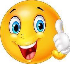 Autocolante Pixerstick Emoticon feliz que dá o polegar para cima isolado no fundo branco - Signos e Símbolos