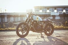 Suzuki GS450L Cafe Racer by Wrench Kings (Rens) #motorcycles #caferacer #motos | caferacerpasion.com