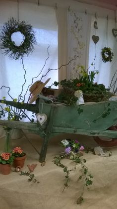 Shop window display by Judith level 2 floristry Diploma
