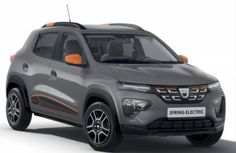 Dacia Spring: 100% electric car with 44hp and 280km of autonomy |Electric Cars|Electric Hunter Electric Motor, Electric Cars, Mini Crossover, Automotive Group, Car Brands, Rear Seat, Car Car