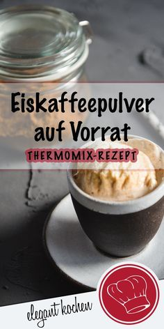 drink in Thermomix in stock. Quick ice coffee powder recipe with only . - Gewürze, Pulver auf Vorrat I Thermomix Rezepte -Summer drink in Thermomix in stock. Quick ice coffee powder recipe with only . - Gewürze, Pulver auf Vorrat I Thermomix Rezepte - Summer Desserts, Summer Drinks, Summer Recipes, Drinks Alcoholicas, Cocktails, Protein Powder Pancakes, Coffee Popsicles, Iced Coffee At Home, Best Protein Shakes
