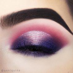 using the NABLA Soul Blooming Eyeshadow Palette (Flowery Bolero Caravaggio Philosophy Climbing Rose Anemone) Makeup Goals, Makeup Inspo, Makeup Inspiration, Makeup Tips, Beauty Makeup, Mime Makeup, Eyeshadow Makeup, Eyeshadow Palette, Purple Eye Makeup
