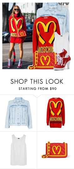"""""""Milan Fashion Week FW 2014 Street Style: Anna Dello Russo"""" by anitadanako ❤ liked on Polyvore featuring Topshop, Joseph and NIKE"""