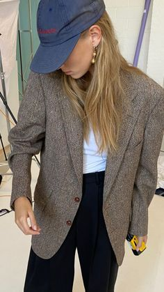 Preppy Outfits, Fall Outfits, Cute Outfits, Fashion Outfits, Womens Fashion, Elegant Outfit, Ootd, Swagg, Types Of Fashion Styles